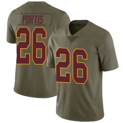 Clinton Portis Washington Redskins Youth Limited Salute to Service Nike Jersey - Green