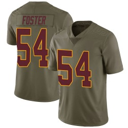 Mason Foster Washington Redskins Youth Limited Salute to Service Nike Jersey - Green